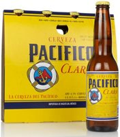 Pacifico Clara (4 x 355ml) Lager / Pilsner Beer