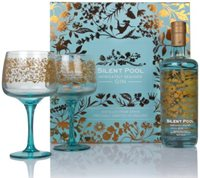Silent Pool Gin Gift Pack with 2x Glasses Gin