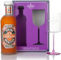Hotel Starlino Arancione Gift Pack with Glass Liqueurs