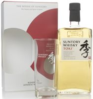 Suntory Toki Gift Pack with Glass Blended Whi...