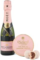 Moet & Chandon Rose Imperial NV 30cl and Truf...