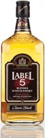 Label 5 Classic Black Blended Whisky