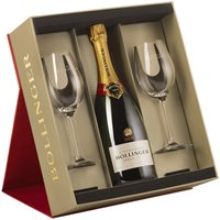 Bollinger Special Cuvee Gift Set with Glasses