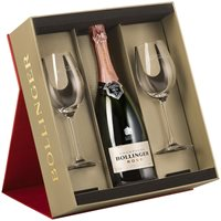 Bollinger Rosé Gift Set with Glasses