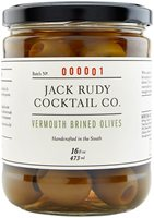 Jack Rudy Co Vermouth Brined Olives