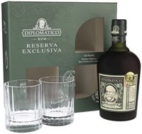 Diplomatico Rum Gift Set with Glasses