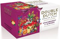 Double Dutch Cranberry & Ginger Tonic Water, 6 x