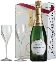Laurent Perrier La Cuvee (in gift box with 2 ...