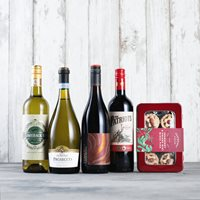 Mince Pies & Wine Gift