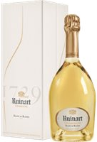 Champagne ruinart blanc de blancs in luxury b...