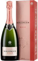 Champagne bollinger - brut rose - in gift pac...