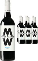 Most Wanted Chilean Merlot Wine 6 x