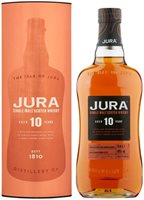 Jura Aged 10 Years Single Malt Scotch Whisky ...