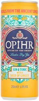 Opihr Gin & Tonic With Dash Ginger 250Ml
