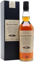 Blair Athol 12 Year Old Highland Single Malt ...