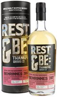Benrinnes 2007 / 11 Year Old / Rest & Be Thankful Speyside Whisky