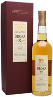 Brora 32 Year Old Special Release Single Malt Whisky