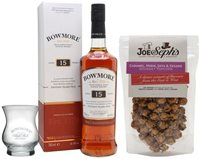 Bowmore 15 Year Old and Popcorn Bundle