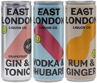 East London Liquor RTD Collection / 3 Cans