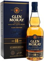 Glen Moray 18 Year Old Speyside Single Malt S...