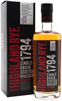 Arbikie Highland Rye 1794 / 2020 Release Single Grain Scotch Whisky