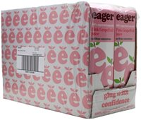 Eager Pink Grapefruit Juice / Case of 8x100cl Cartons