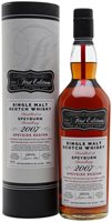 Speyburn 2007 / 14 Year Old / First Editions Speyside Whisky