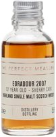 Edradour 2007 Sample / 12 Year Old / Natural Cask Strength Highland Whisky