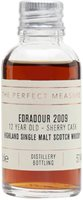 Edradour 2009 Sample / 12 Year Old / Sherry Cask #100 Highland Whisky