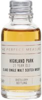Highland Park 21 Year Old Sample / 2019 Release Island Whisky