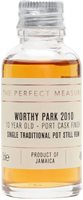 Worthy Park Reserve 2010 Port Cask Finish Sample / 10 Year Old