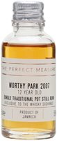 Worthy Park 2007 Sample / 12 Year Old /Thompson Bros for TWE