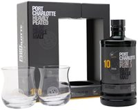 Port Charlotte 10 Year Old / 2 Glass Pack Islay Whisky