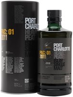 Port Charlotte PAC:01 2011 Heavily Peated Islay Whisky