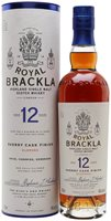 Royal Brackla 12 Year Old / Sherry Finish Highland Whisky