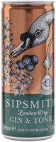 Sipsmith Gin & Tonic / Single Can