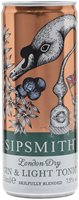 Sipsmith Gin & Light Tonic / Single Can