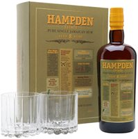 Hampden Estate 8 Year Old Rum / Glass Pack Single Traditional Pot Rum