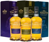 Tomatin 3 X French Collection Trio 12 Year old 2008