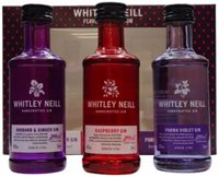 Whitley Neill Tasting Set 3 X Flavoured Gin 50ml