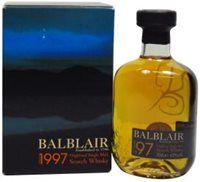 Balblair 1st Release 10 Year old 1997