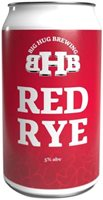Big Hug Brewing Red Rye Can