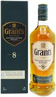 Grants 8 Year Sherry Cask Edition Whisky