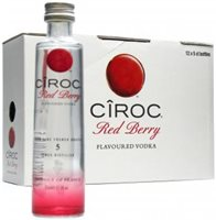Mini Ciroc Multi Pack 12 X Red Berry Flavoured Vodka 50ml