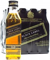 Mini Johnnie Walker Multi Pack 12 X Black Label 12 Year old 12 Year Old Whisky 50ml