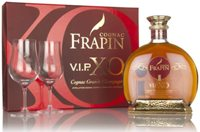 Frapin V.I.P. XO Gift Pack With Two Glasses X...