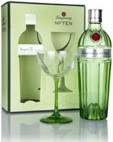 Tanqueray No. Ten Gift Pack with Coupette Gla...