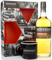 Auchentoshan American Oak Gift Pack with Cup ...