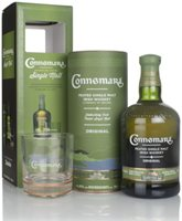 Connemara Peated Gift Pack with Glass Single ...