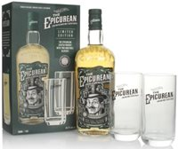 The Epicurean Gift Pack with 2x Glasses Blend...